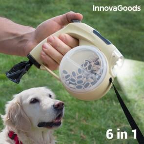 Guinzaglio Retrattile per Cani 6 in 1 InnovaGoods