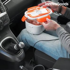 Portavivande Elettrico da Auto InnovaGoods 40W 12 V Bianco Arancione