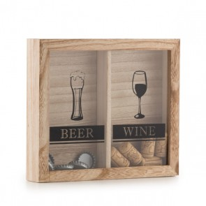 Quadro per Tappi Beer & Wine Wagon Trend