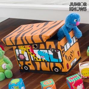 Portagiocattoli pieghevole Bus Junior Knows