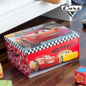 Contenitore Portagiochi Pieghevole Cars (50 x 39 cm)