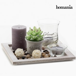 Centrotavola Candles & Garden Homania