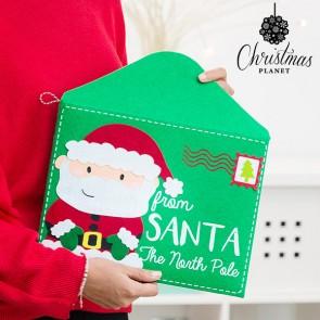 Busta da Lettera Natalizia di Babbo Natale Noel Christmas Planet