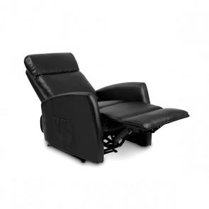 Poltrona Relax Massaggiante Compact Push Back Nera Cecorelax 6180