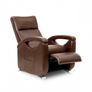 Poltrona Relax Massaggiante Push Back Marrone Cecotec 6027