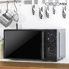 Microonde Cecomix All Black 1367 20 L 700W Nero