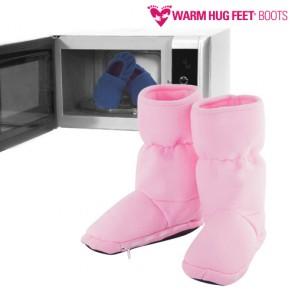 Warm Hug Feet Stivali Riscaldabili al Microonde