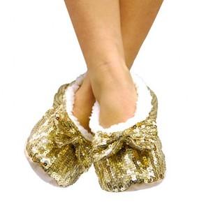 Pantofole Ballerine Morbide con Paillettes