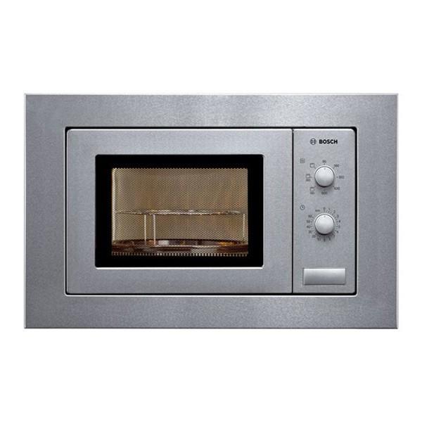 Microonde da Incasso con Grill BOSCH HMT72G650 18 L 800W Acciaio inossidabile