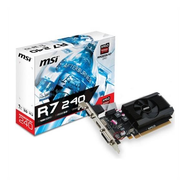 Scheda Grafica R7 240 MSI 912-V809-2846 1 GB DDR3 1600 MHz