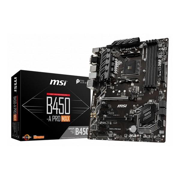 Scheda Madre MSI B450-A Pro Max ATX DDR4 AM4