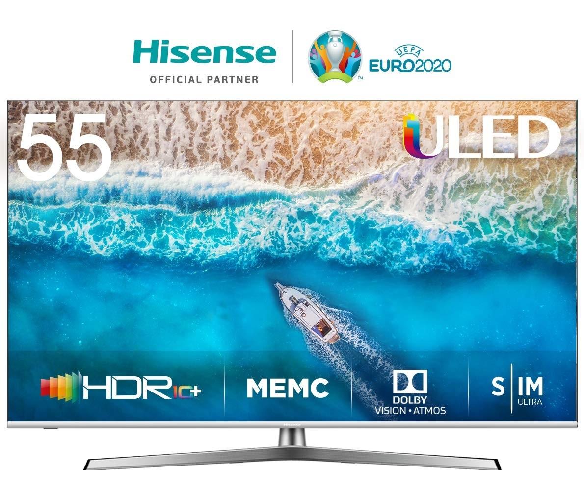 "OFFERTISSIMA Smart TV Hisense 55U7B 55"" 4K Ultra HD LED WiFi Argentato"
