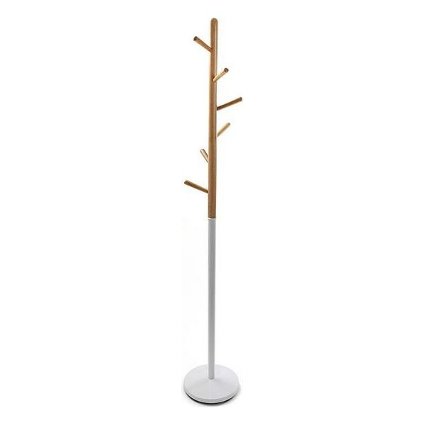 Appendiabiti (28 x 180 x 28 cm) Bianco Metallo