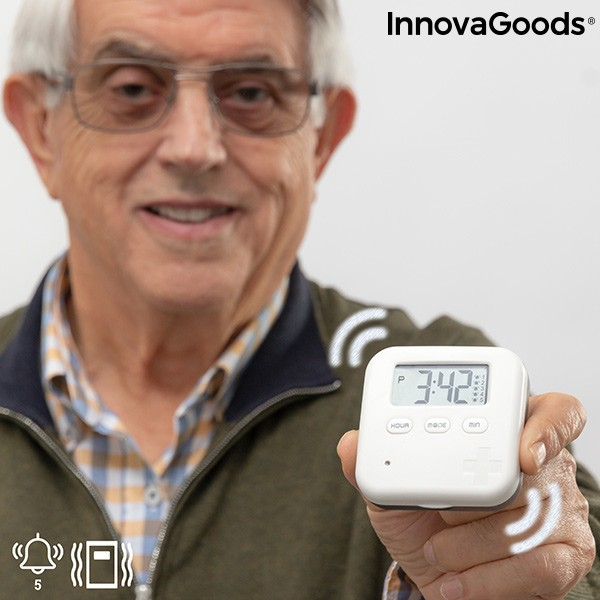 Portapillole Intelligente Elettronico Pilly InnovaGoods