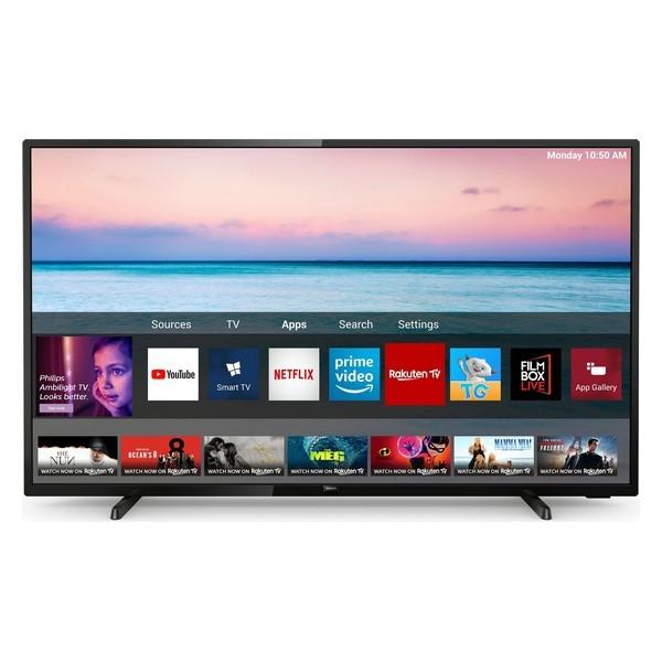 "Smart TV Philips 58PUS6504/12 58"" 4K Ultra HD LED WiFi Nero"