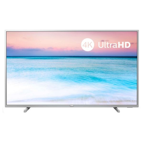 "Smart TV Philips 50PUS6554 50"" 4K Ultra HD LED WiFi Argentato"
