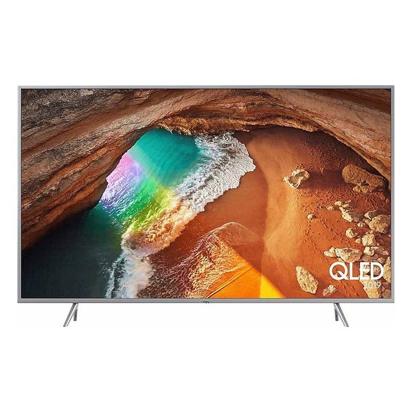 "Smart TV Samsung QE55Q65R 55"" 4K Ultra HD QLED WiFi Argentato"