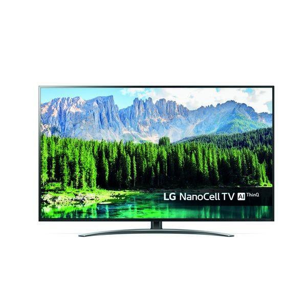 "Smart TV LG 49SM8500 49"" 4K Ultra HD LED WiFi Nero"