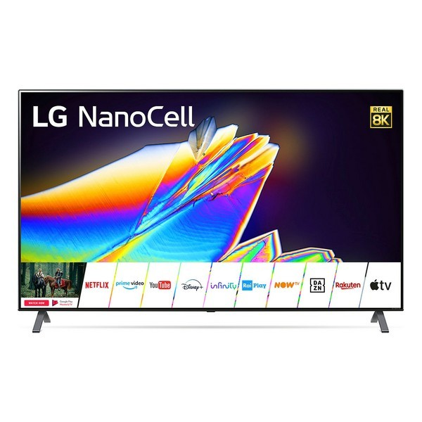 "Smart TV LG 55NANO956 55"" 8K Ultra HD NanoCell WiFi Argentato"
