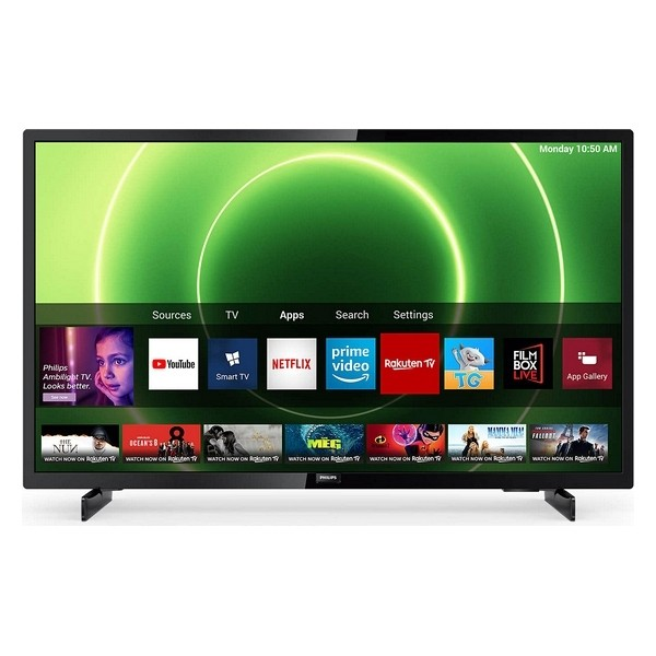 "Smart TV Philips 24PFS6805 24"" Full HD LED WiFi Nero"