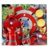 Cofanetto Profumo Bambini Avengers Iron Man Cartoon EDT (3 pcs)