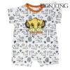 Tutina a Maniche Corte per Bambini The Lion King Bianco